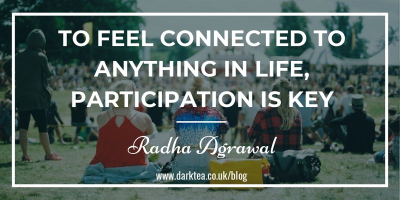 To feel connected to anything in live, participation is key - Radha Agrawl Belong
